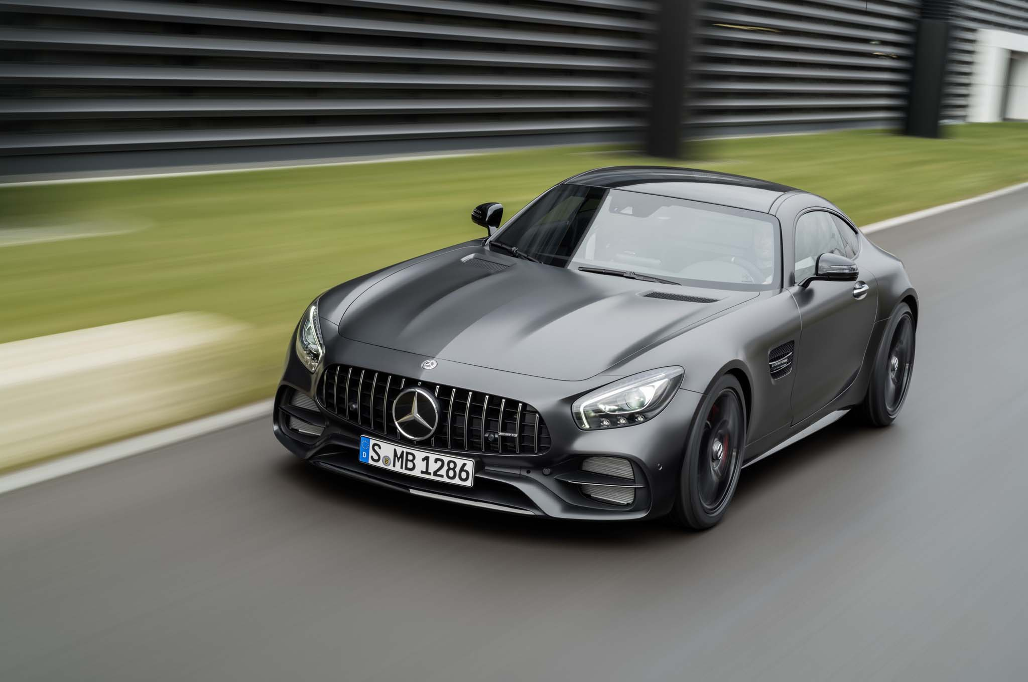 Eight key updates for 2018 mercedes amg gt lineup for 2018 mercedes benz amg gt