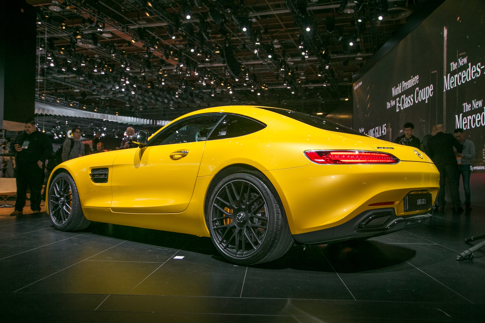 eight key updates for 2018 mercedes amg gt lineup. Black Bedroom Furniture Sets. Home Design Ideas