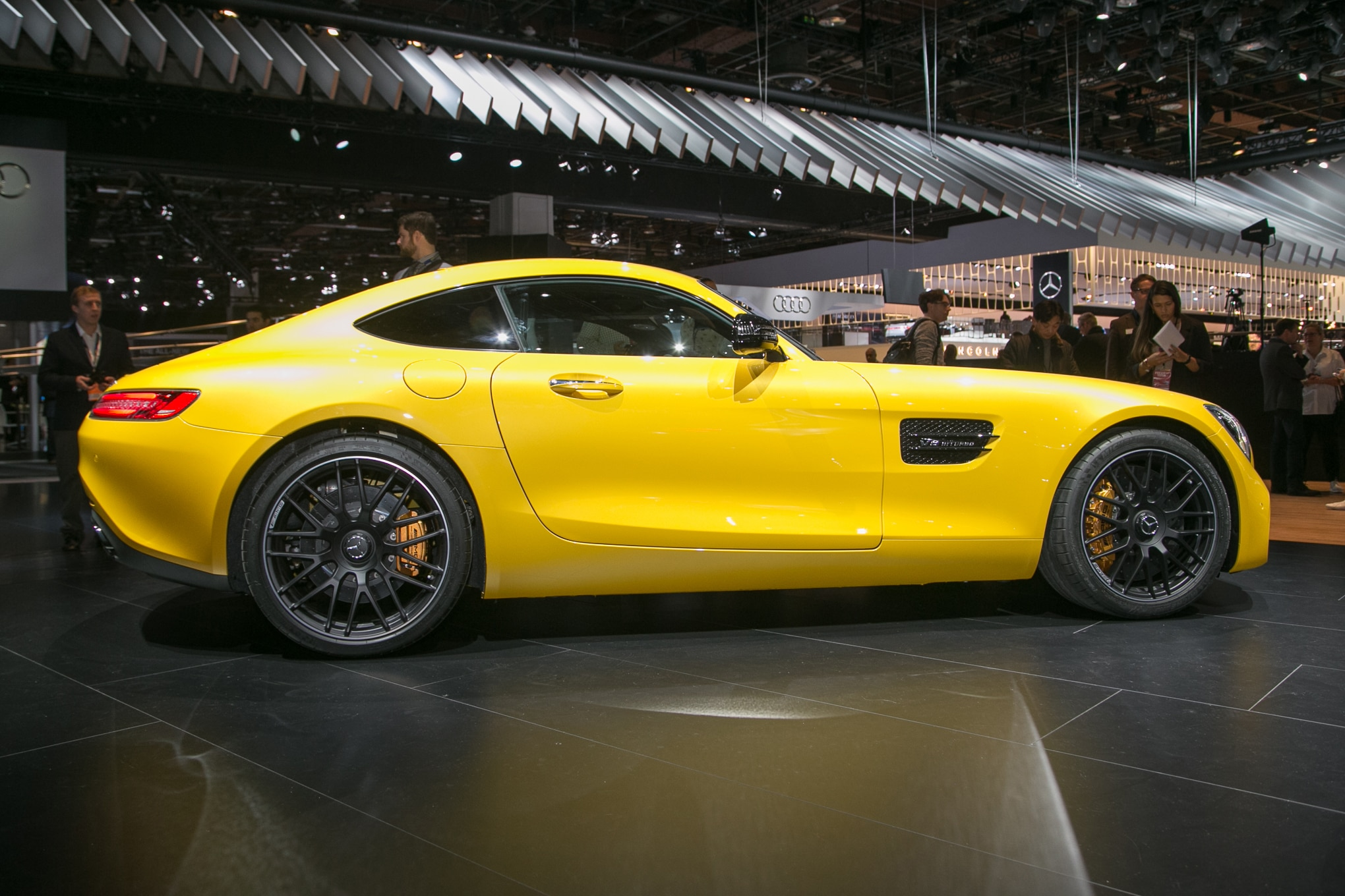 mercedes amg debuts revised amg gt family automobile magazine. Black Bedroom Furniture Sets. Home Design Ideas