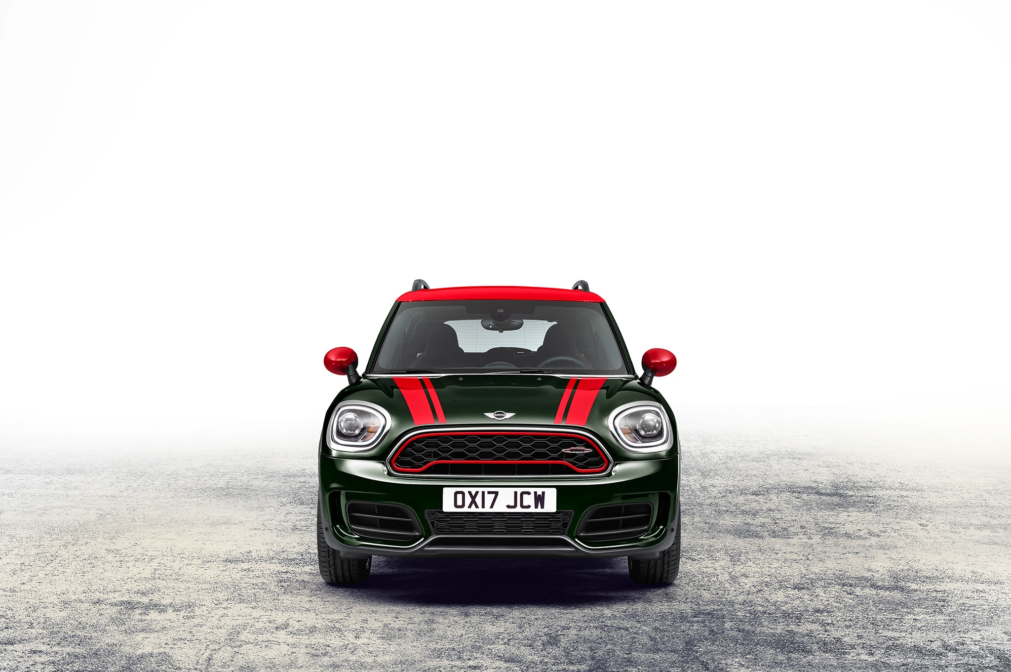 first look 2018 mini john cooper works countryman all4 automobile magazine. Black Bedroom Furniture Sets. Home Design Ideas