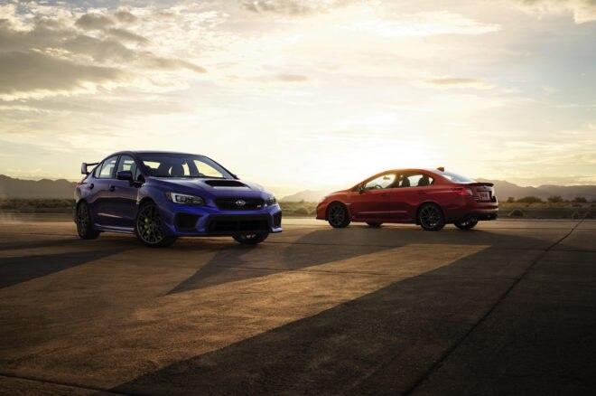 2018 Subaru WRX And Subaru WRX STI Together 660x438