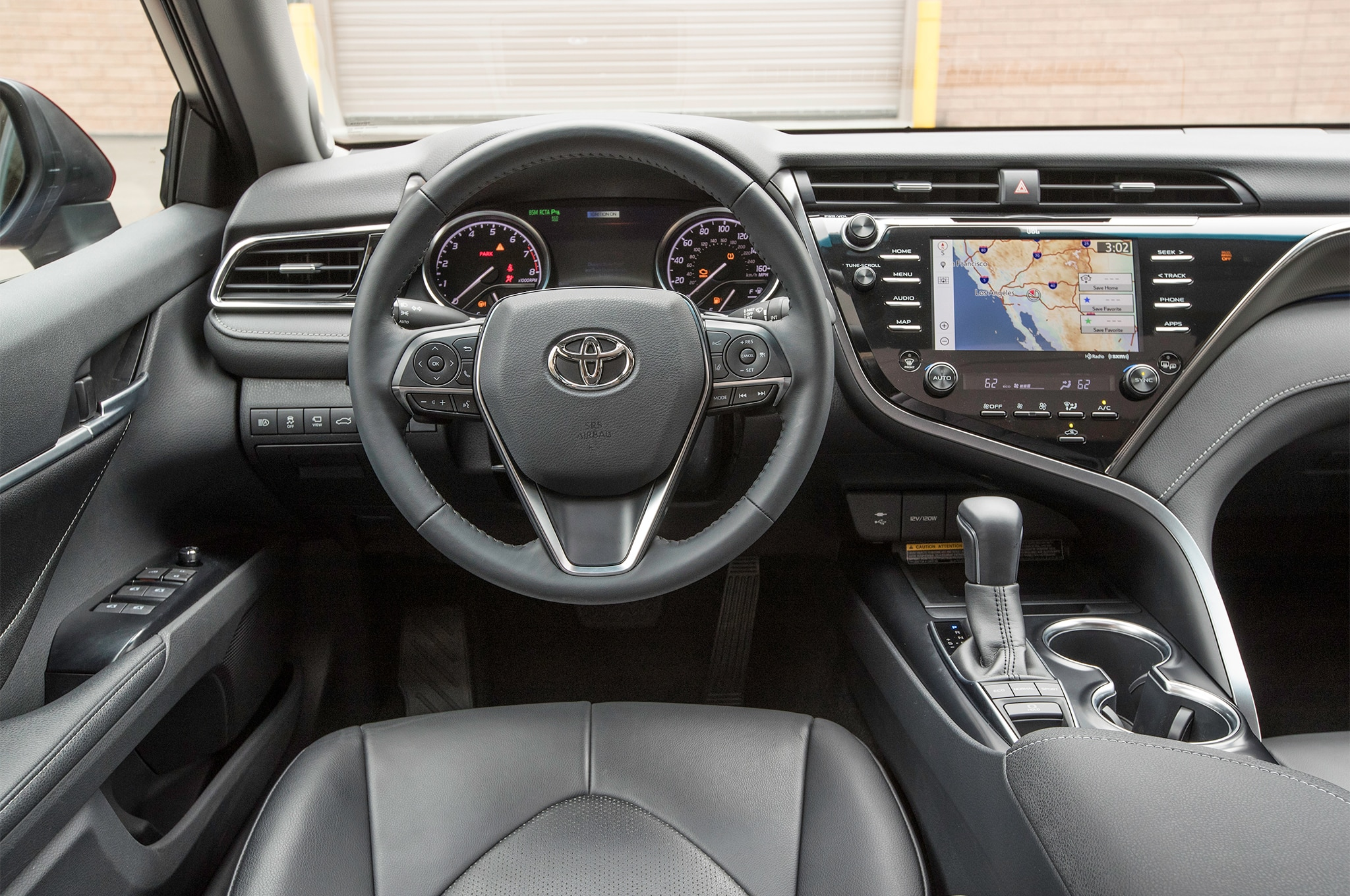 2018-Toyota-Camry-XSE-cabin-01 Stunning toyota Camry 2017 Le Vs Se Cars Trend