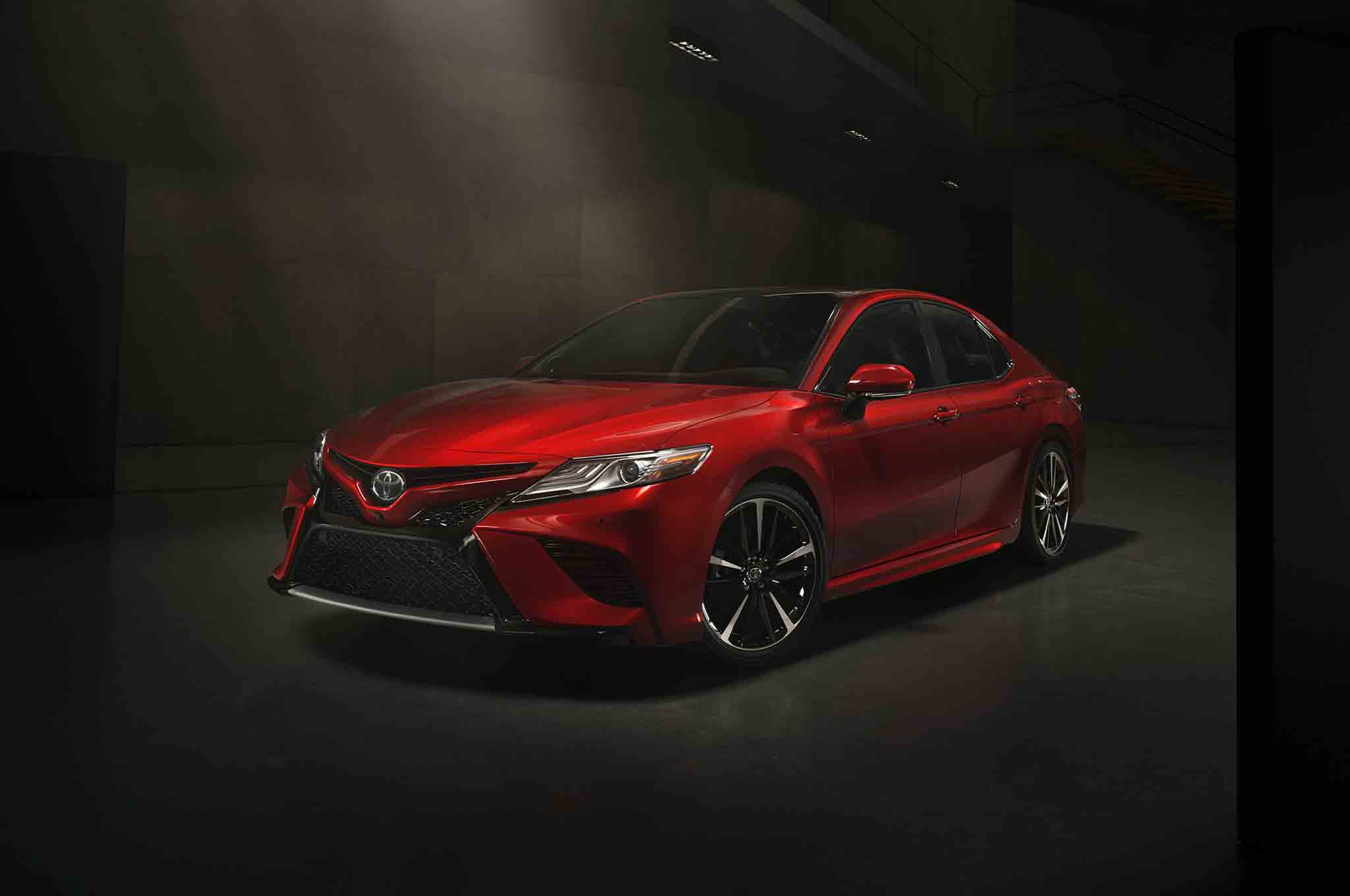 Sorry, Android Auto and Apple CarPlay: 2018 Toyota Camry to Use Open-Source Tech Platform ...