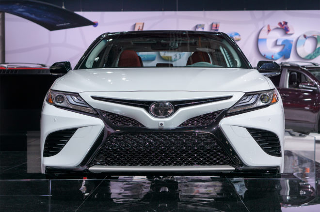2018 Toyota Camry Front View 660x438