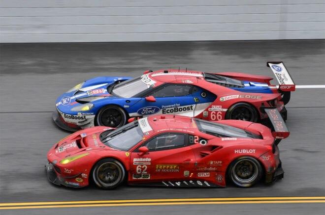 66 Ford 62 Risi Ferrari