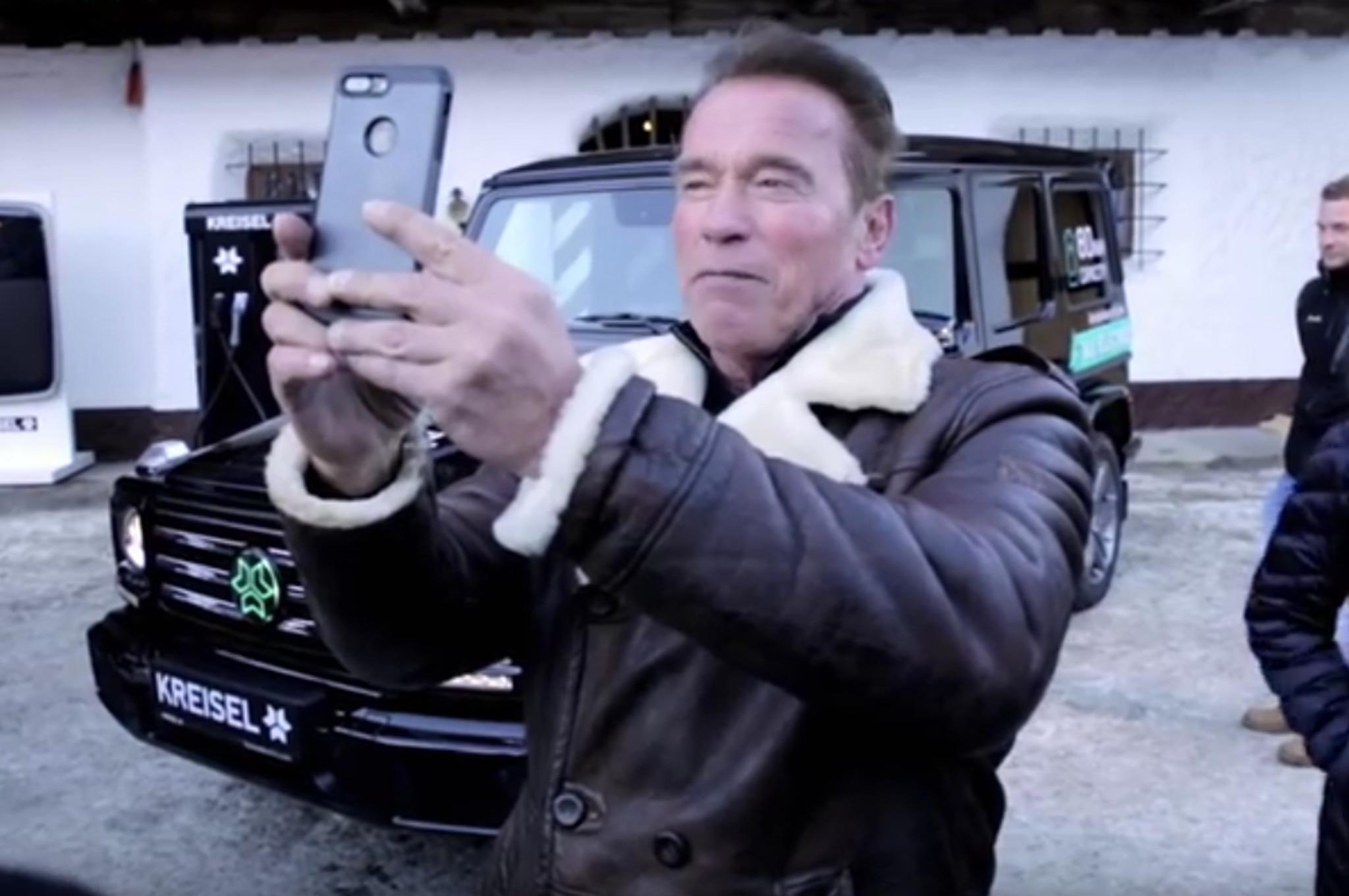 Amg G Wagon >> Arnold Schwarzenegger Gets a Sleeper EV Mercedes-Benz ...