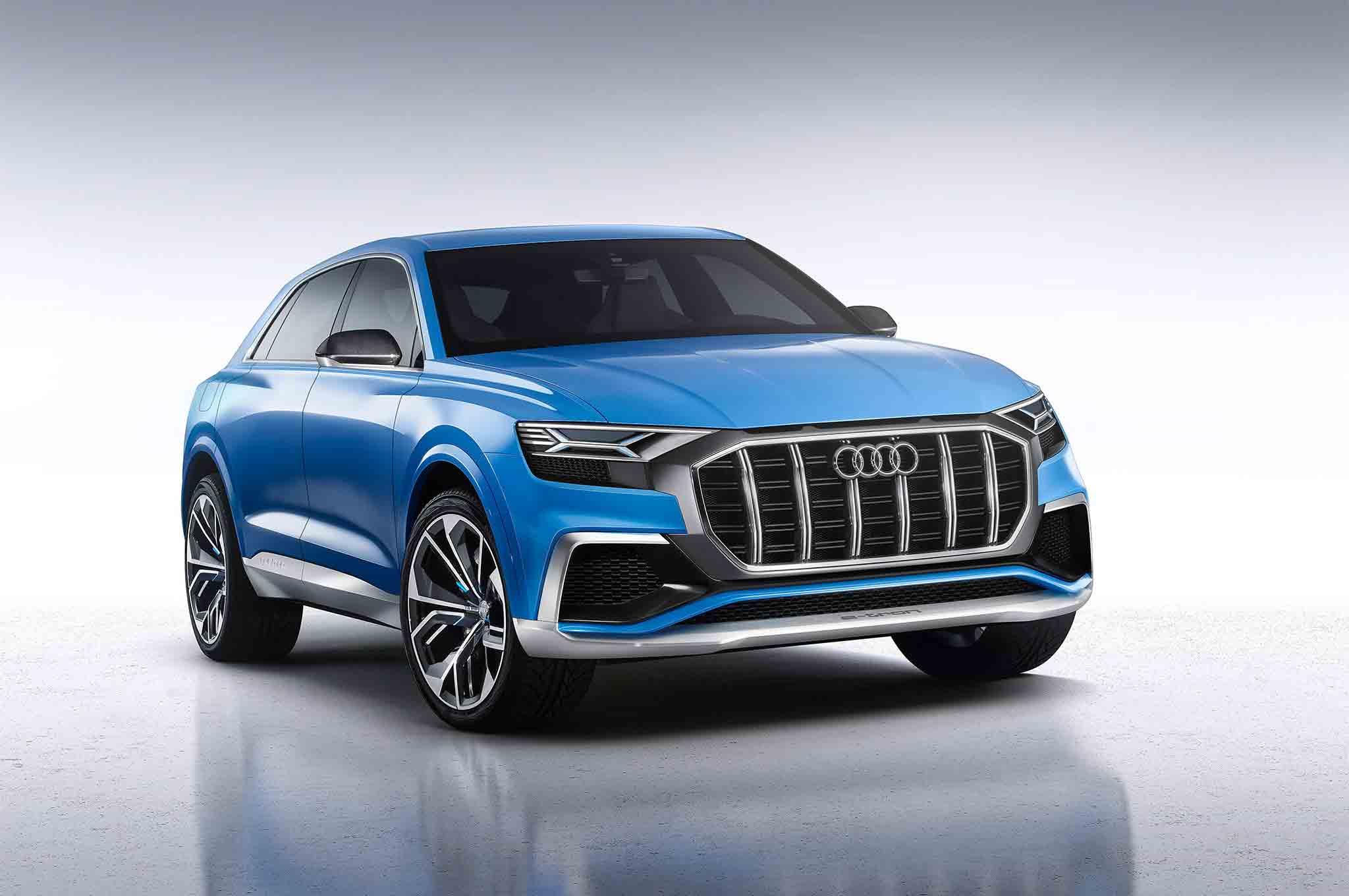 Audi Q8 Concept Front Three Quarter 04 57