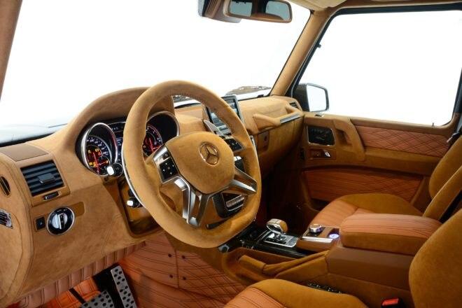 Brabus 800 Mercedes AMG G65 Interior