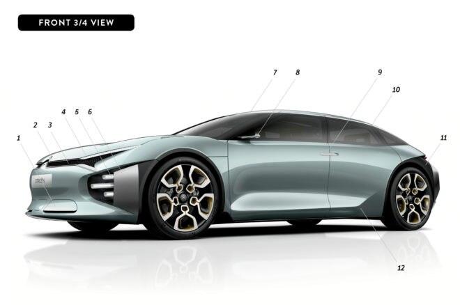 By Design Citroen front three quarter