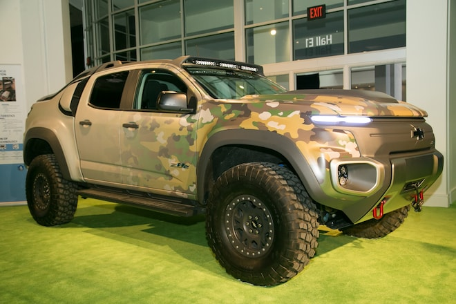 Chevy Colorado Zh2 >> The Chevrolet Colorado ZH2 Fuel Cell Previews the Future