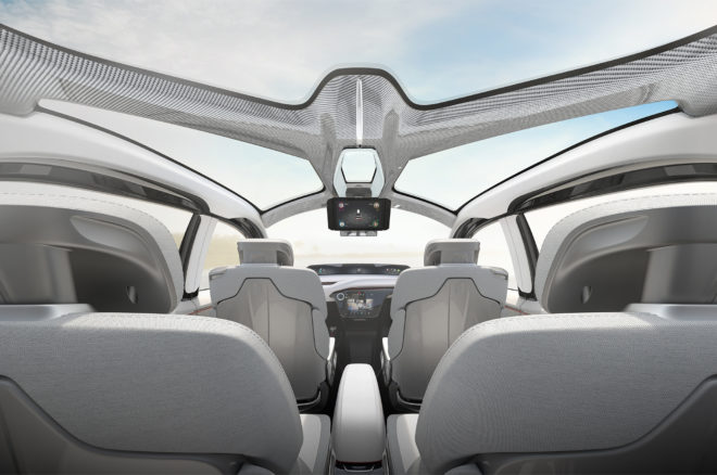 Chrysler Portal concept interior view