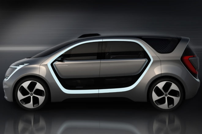 Chrysler Portal concept side profile