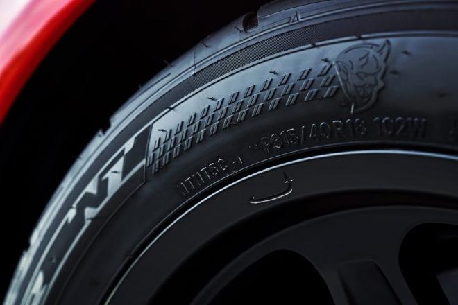 Dodge Challenger SRT Demon Widebody Tire