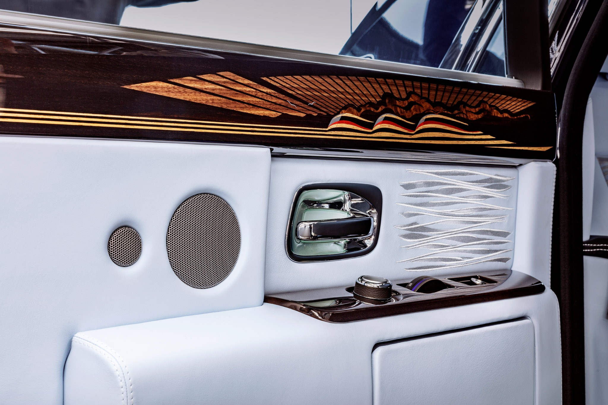 Final Rolls Royce Phantom VII Door Inlay