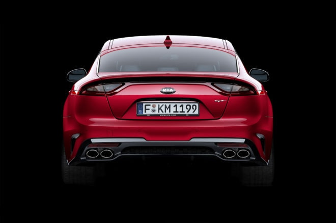 Kia Stinger GT rear end