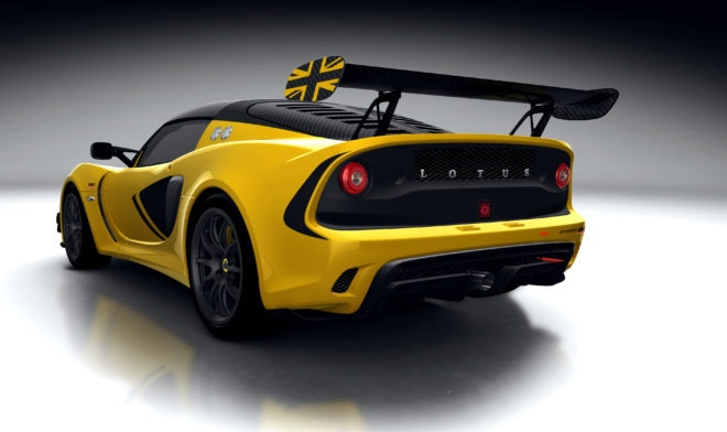 Lotus Exige Race 380 Rear Three Quarter