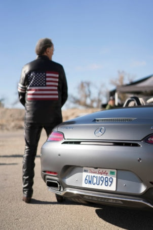 Mercedes AMG GT Roadster with Fonda