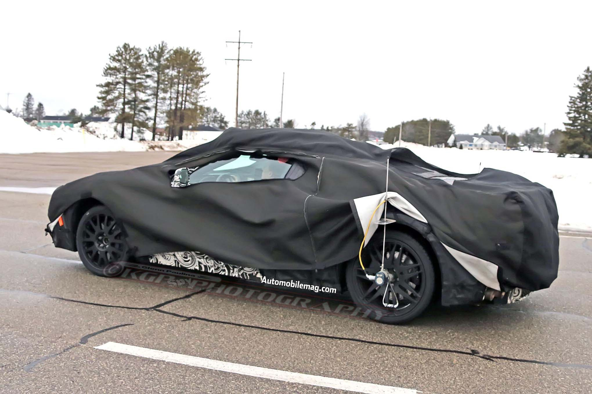 Mid Engine Corvette Surfaces With Zr1 Prototypes