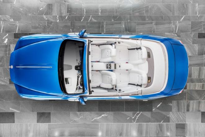 Rolls Royce Fux Blue Dawn Exterior