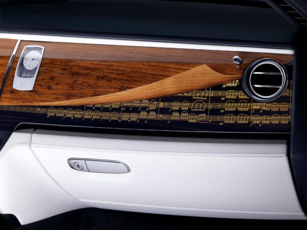Rolls Royce Ghost Inspired by the Greats Marquetry