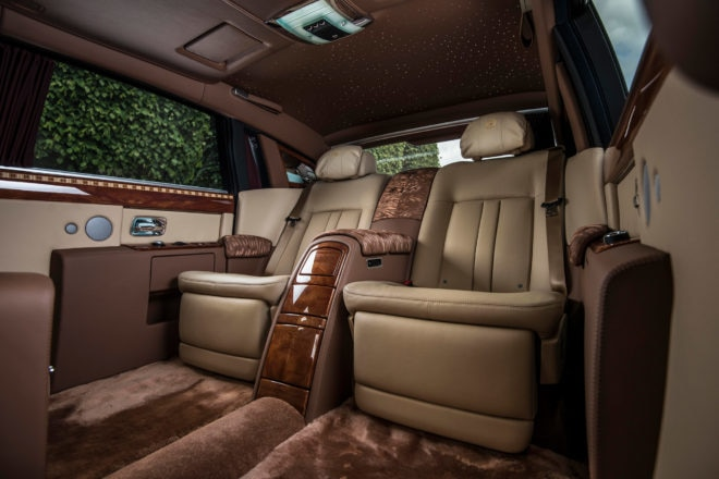 Rolls Royce Peace and Glory Interior