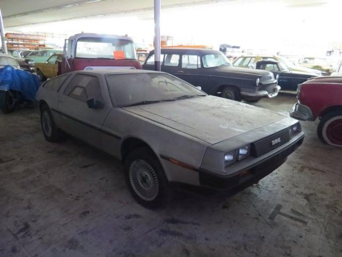 Ron Hackenberger Collection VanDerBrink Auctions DeLorean