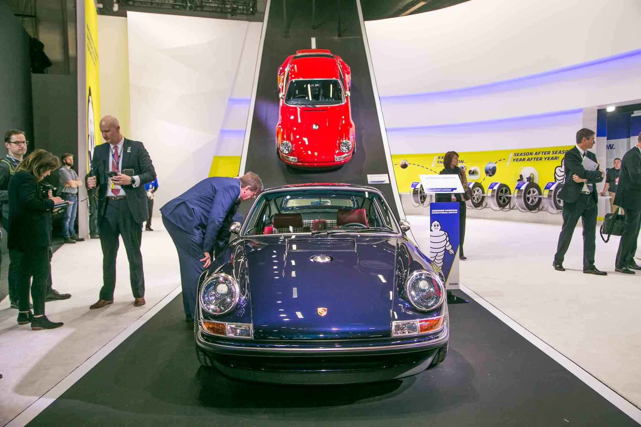 Singer Porsche Front View