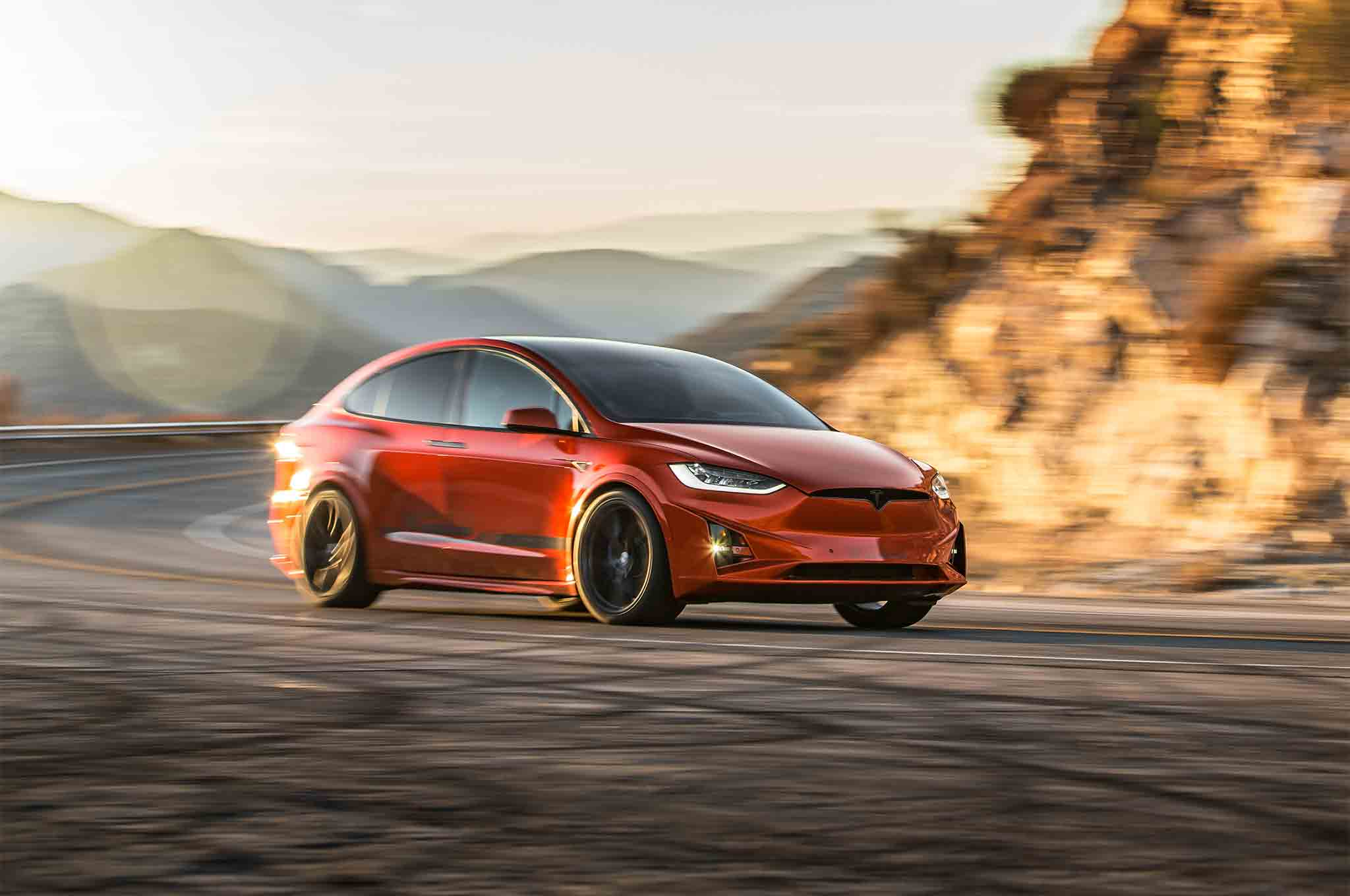 Unplugged Performance 2016 Tesla Model X 90D First Drive