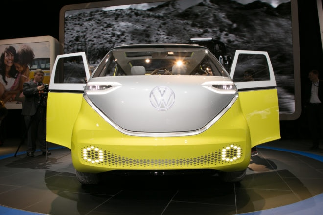 Volkswagen ID BUZZ concept front end 1
