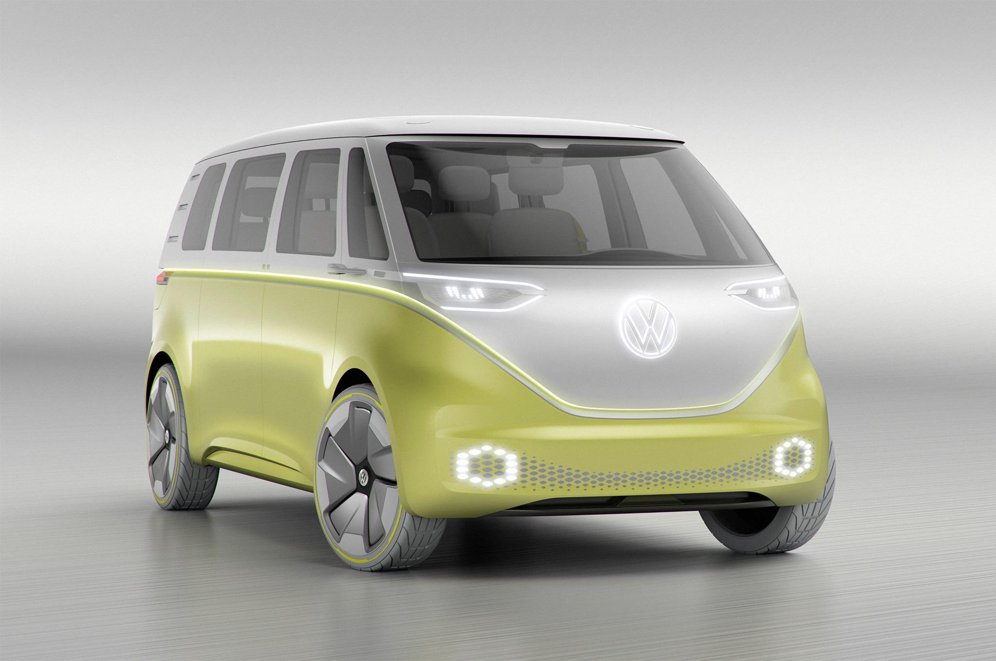 Volkswagen ID BUZZ Concept Front Three Quarter 02 3