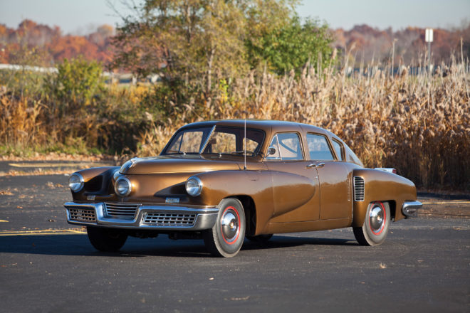1948 Tucker 48 Front Three Quarter