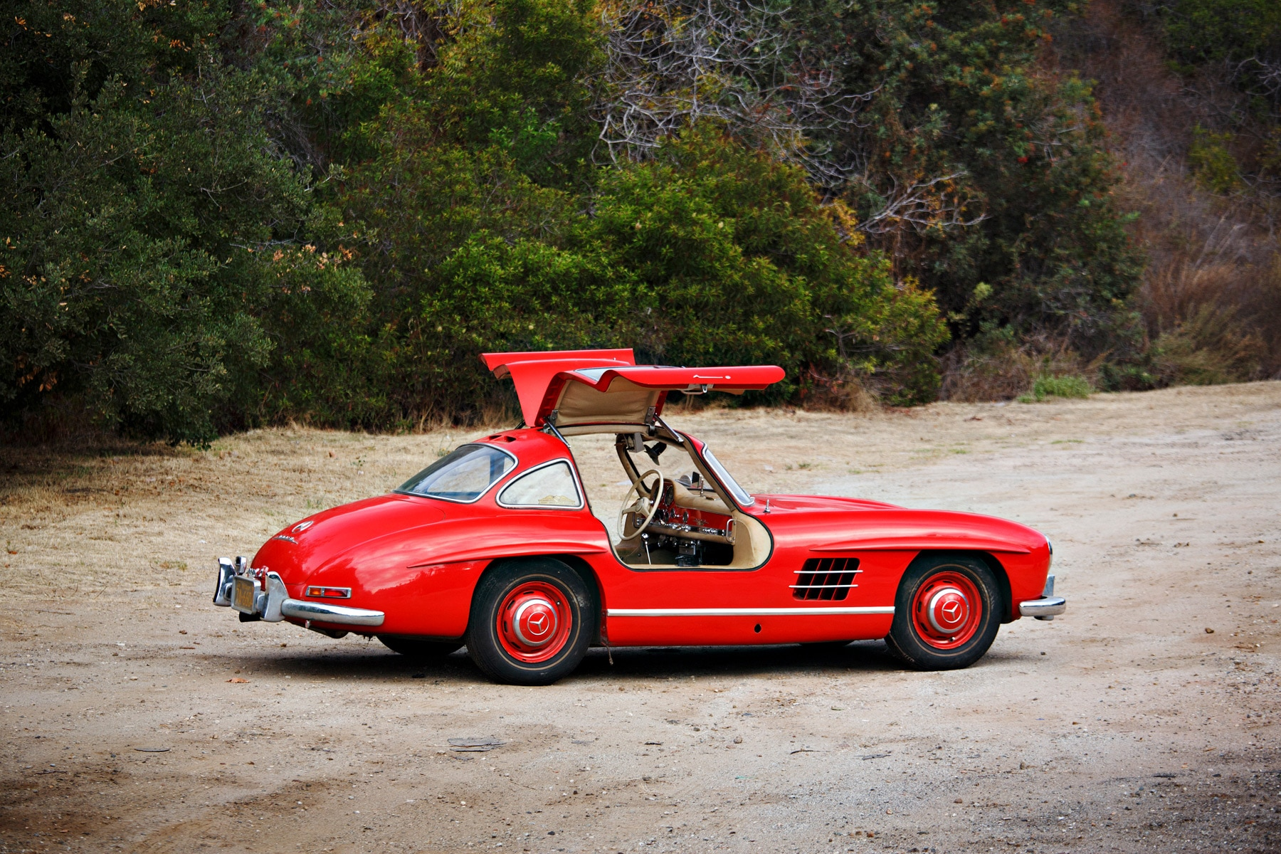 1955 Mercedes Benz 300SL Gullwing Right Side