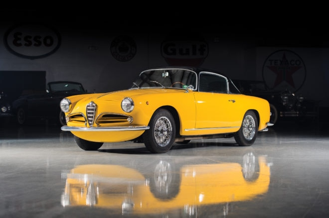 1956 Alfa Romeo 1900C SS Coupe RM Sothebys Amelia Island Front Three Quarters