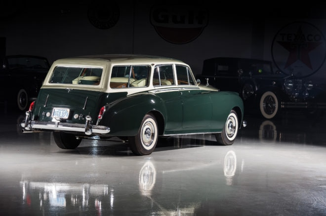 1959 Rolls Royce Silver Cloud I Estate RM Sothebys Amelia Island Rear Three Quarters
