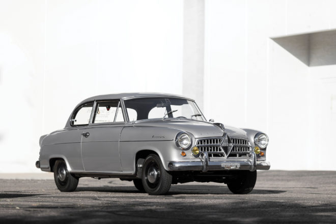 1961 Borgward Isabella Rally Car Front Three Quarter