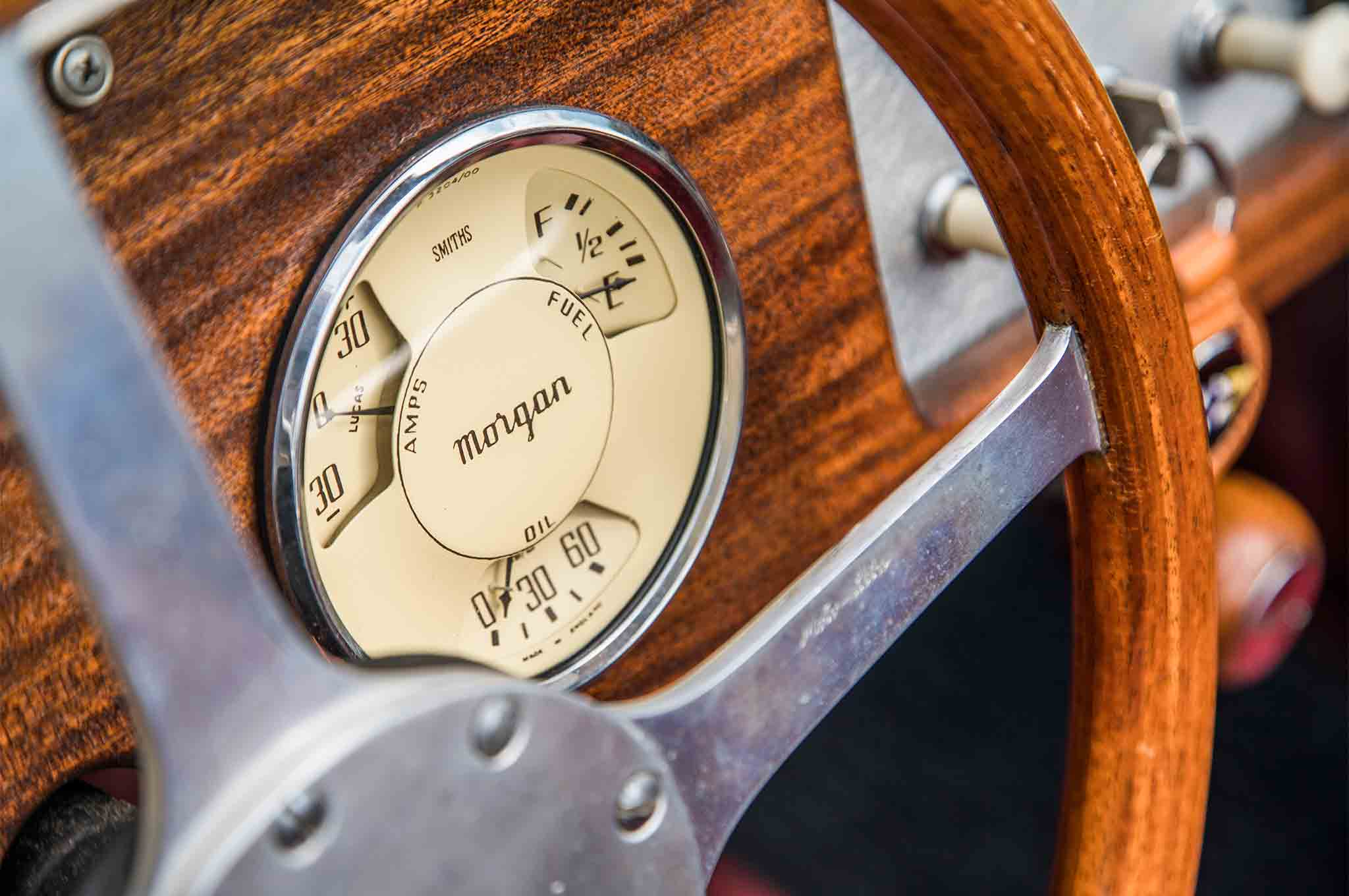1963 Morgan 4 4 Dashboard Gauge 01