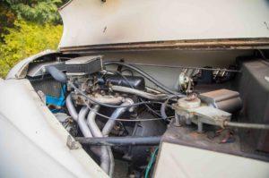 1963 Morgan 4 4 engine 01