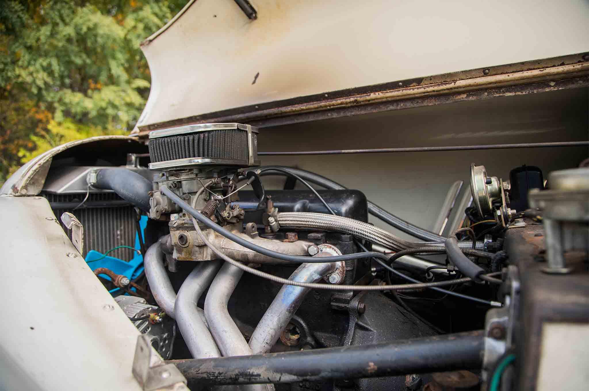 1963 Morgan 4 4 Engine 02