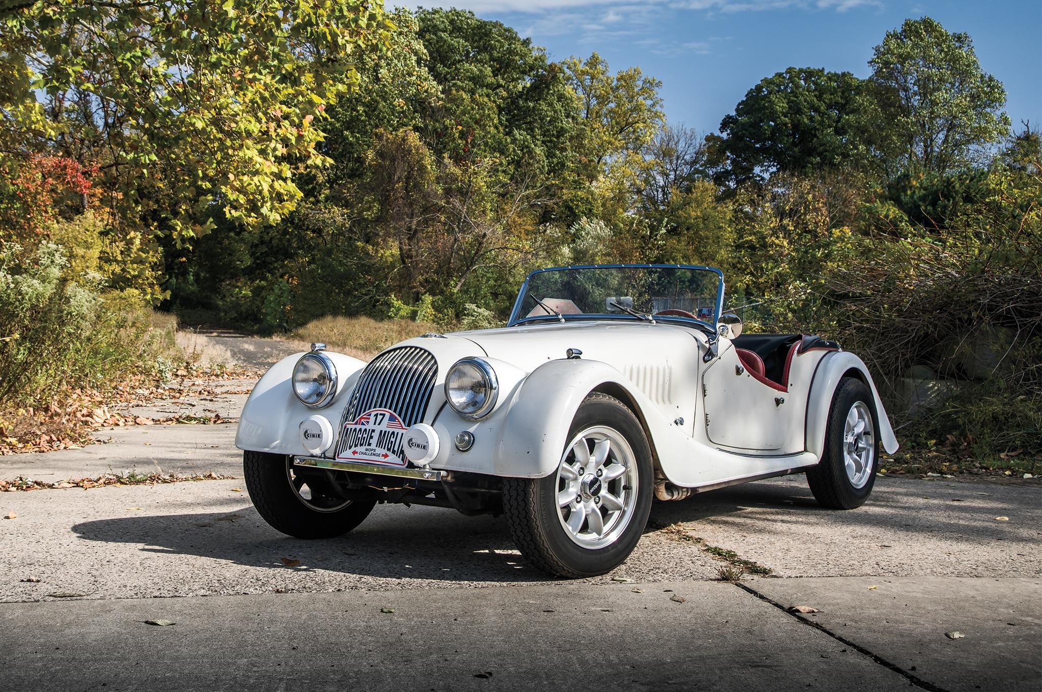 1963 Morgan 4 4 Front Three Quarter 01