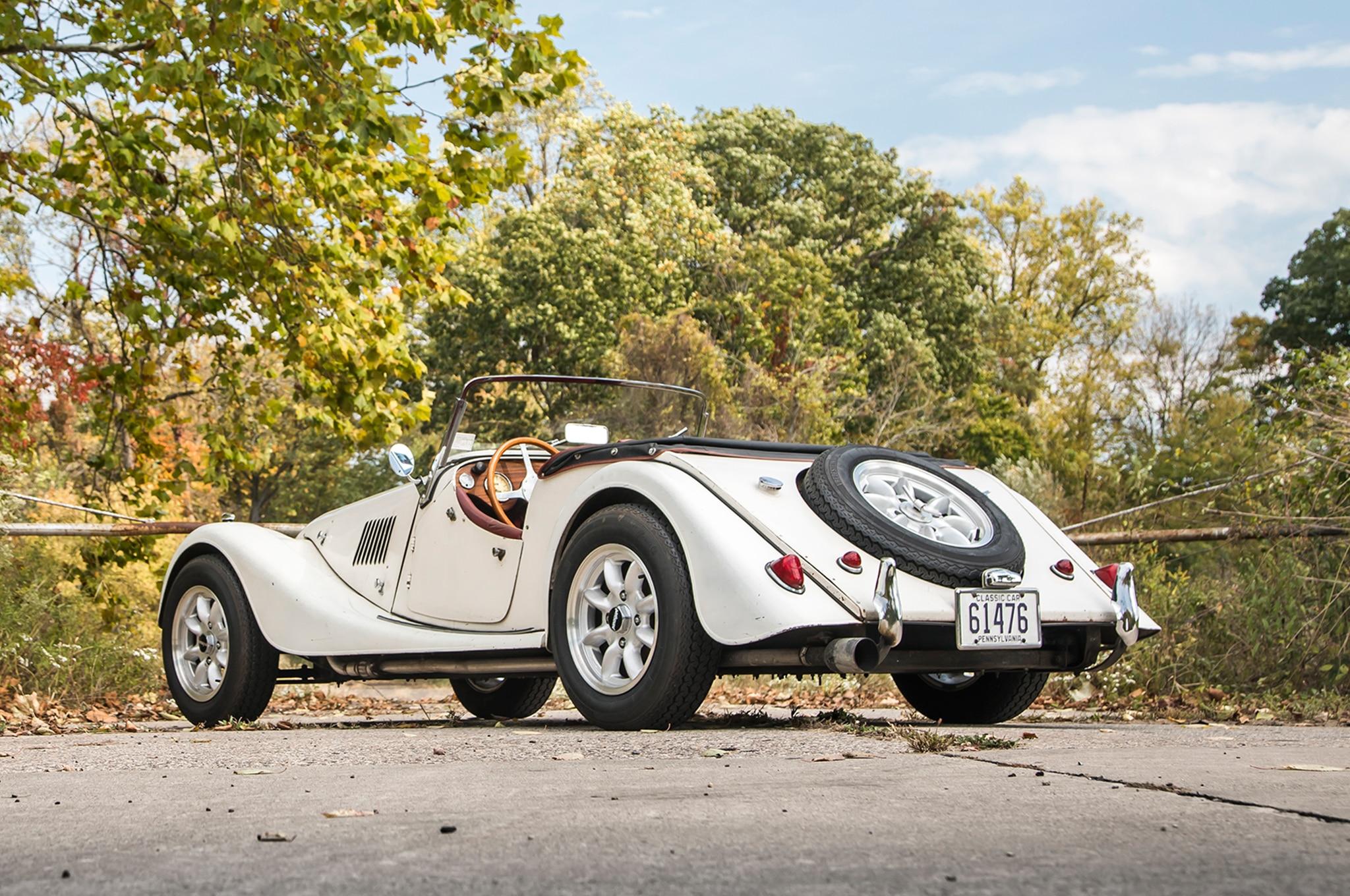 1963 Morgan 4 4 Rear Three Quarter 01