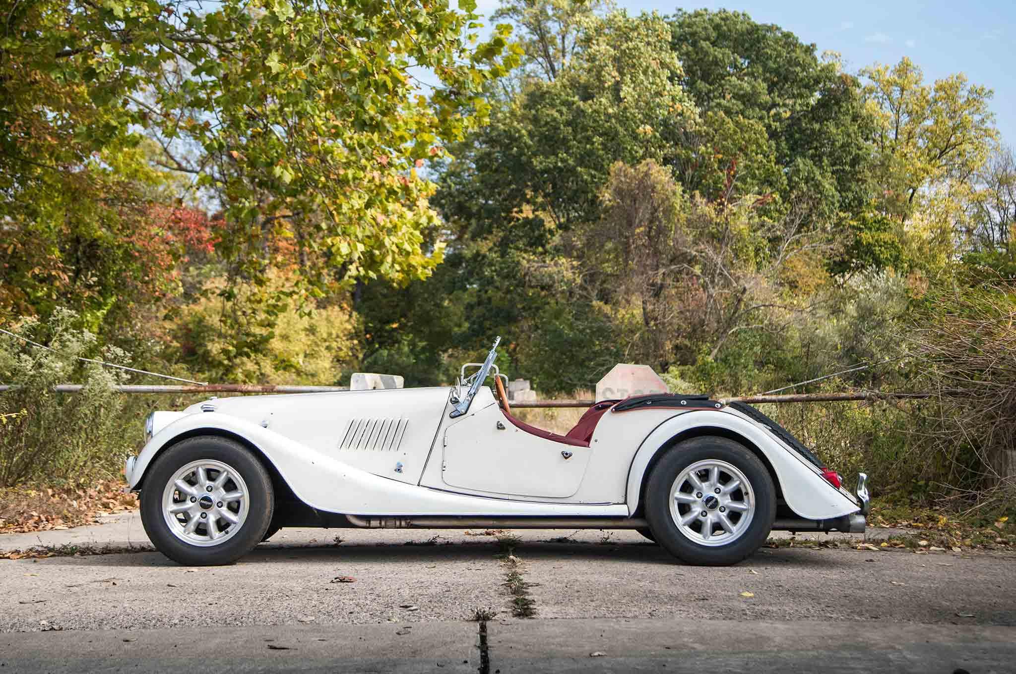 1963 Morgan 4 4 Side Profile