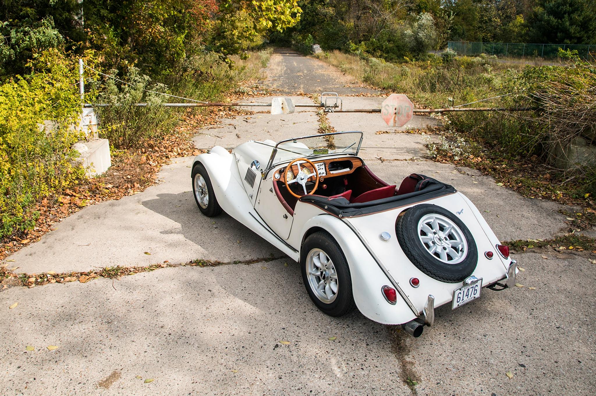 1963 Morgan 4 4 Top View