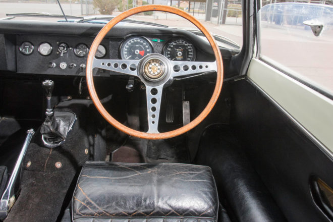 1967 Jaguar E Type Lightweight Competition 2017 Bonhams Scottsdale Interior