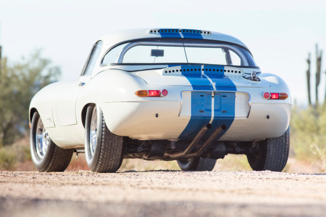 1967 Jaguar E Type Lightweight Competition 2017 Bonhams Scottsdale Rear