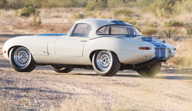 1967 Jaguar E Type Lightweight Competition 2017 Bonhams Scottsdale Rear Three Quarter