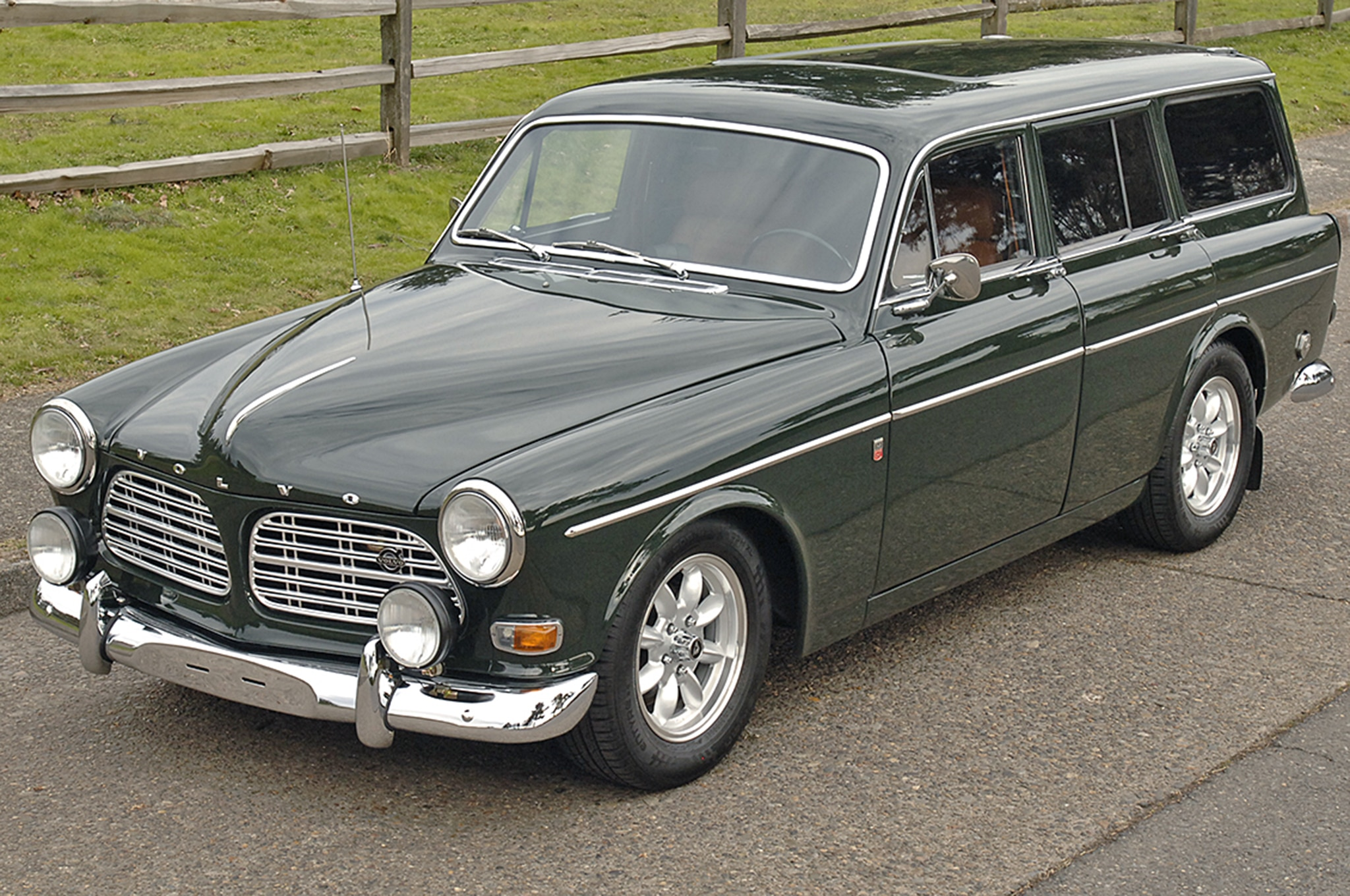 1968 Volvo 122S Wagon Just Listed Front Three Quarters
