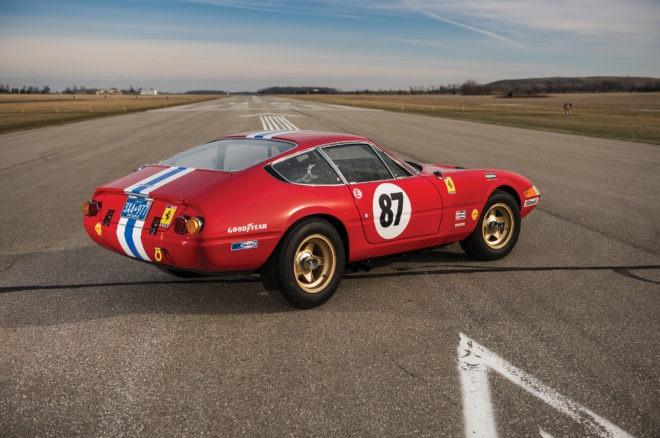 1971 Ferrari 365 GTB Daytona RM Sothebys Amelia Island Rear Three Quarters