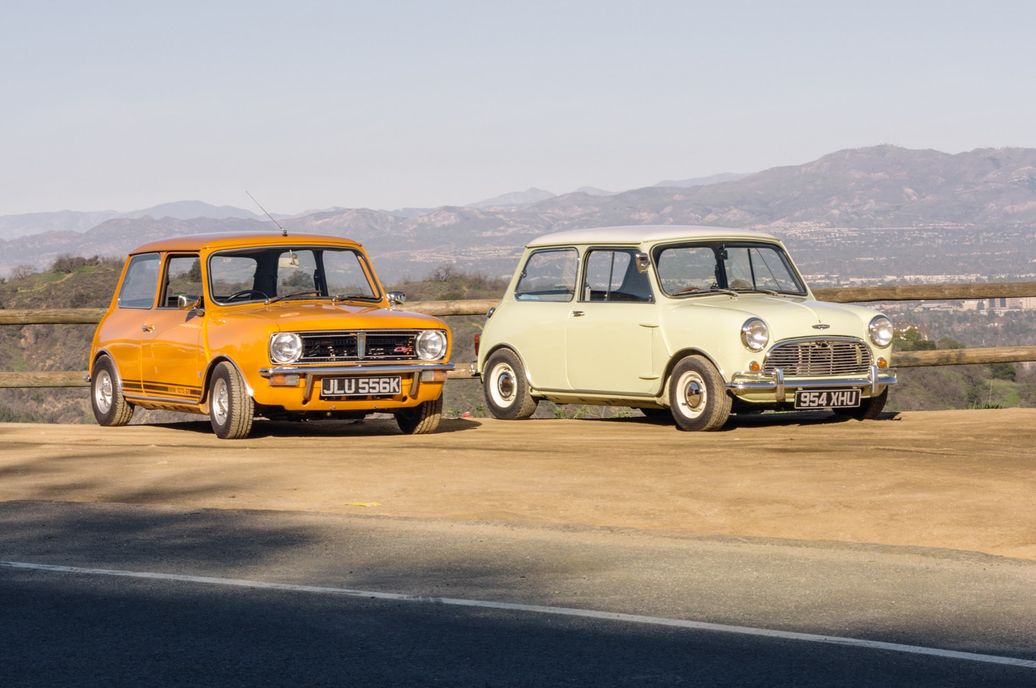 1971 Mini 1275 GT And 1964 Autin Mini Cooper S 2