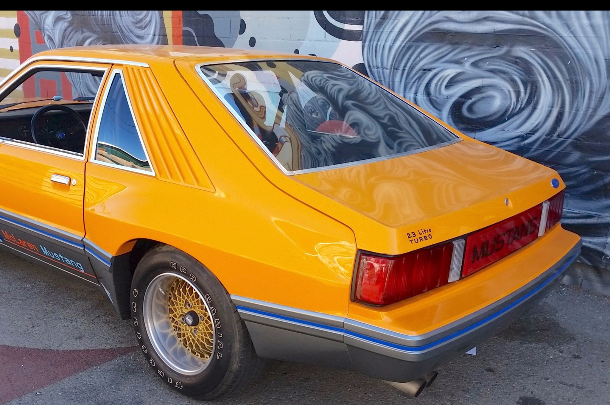 Just Listed: Extremely Rare 1980 Ford McLaren Mustang M-81 ...