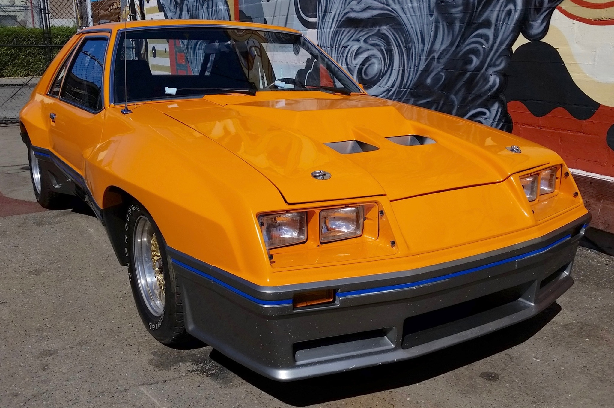 1980 Ford Mustang McLaren M 81 Just Listed Front Three Quarters